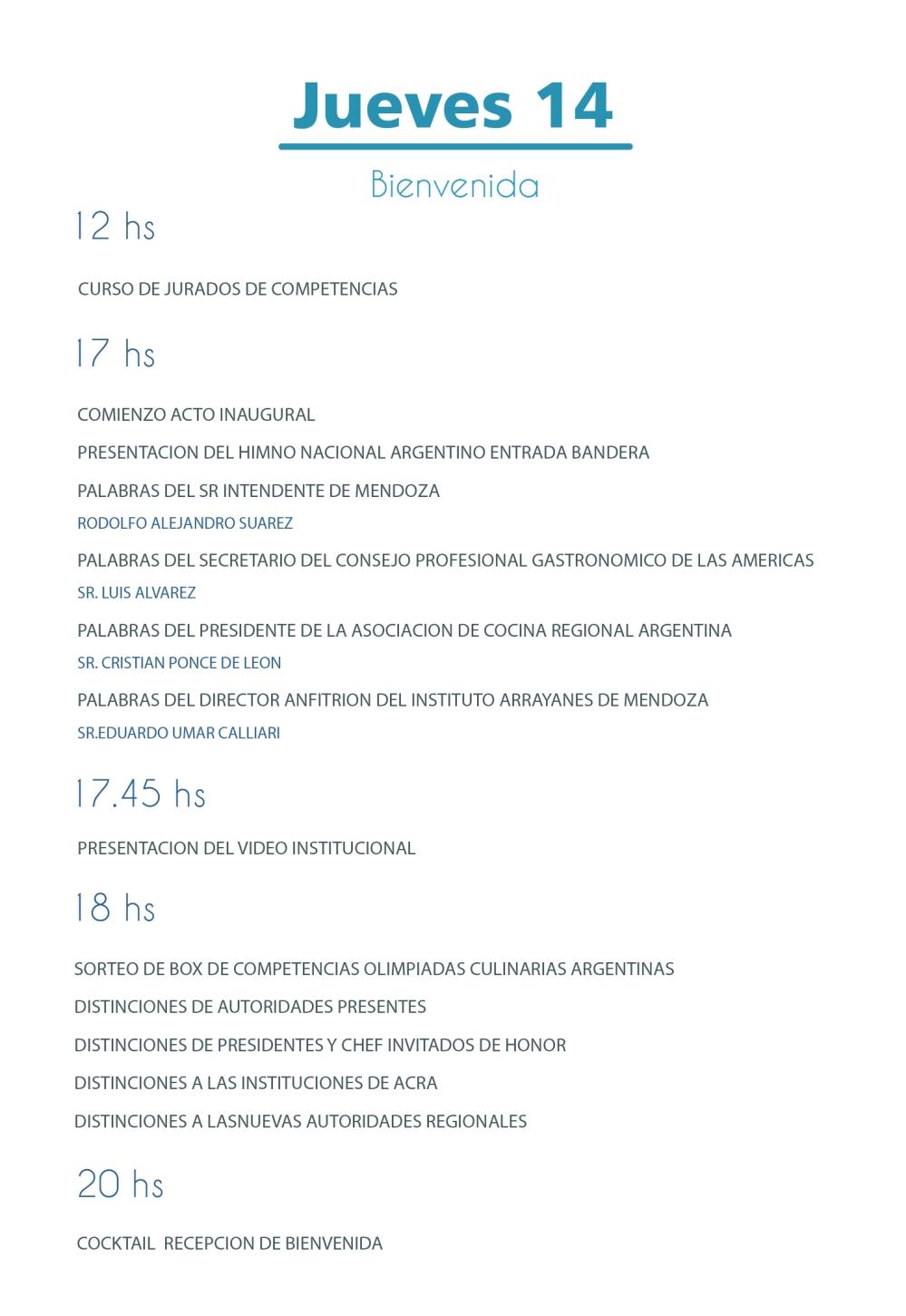 CRONOGRAMA TANDIL2019-01